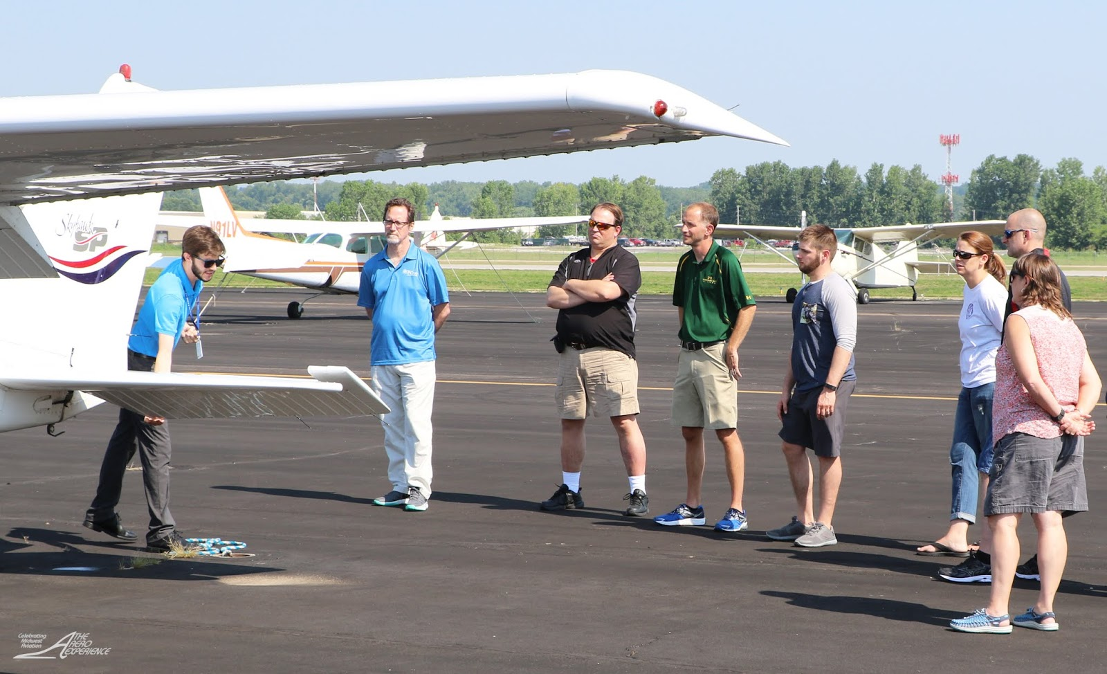 The Aero Experience Thanks Elite Aviation Spirit Of St Louis Airport And Science Center Flight Academy For Their Contribution To