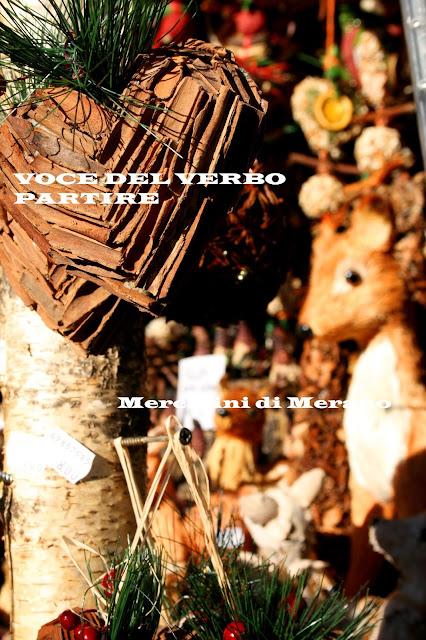 DOMENICA D'AVVENTO A MERANO: ARTIGIANATO