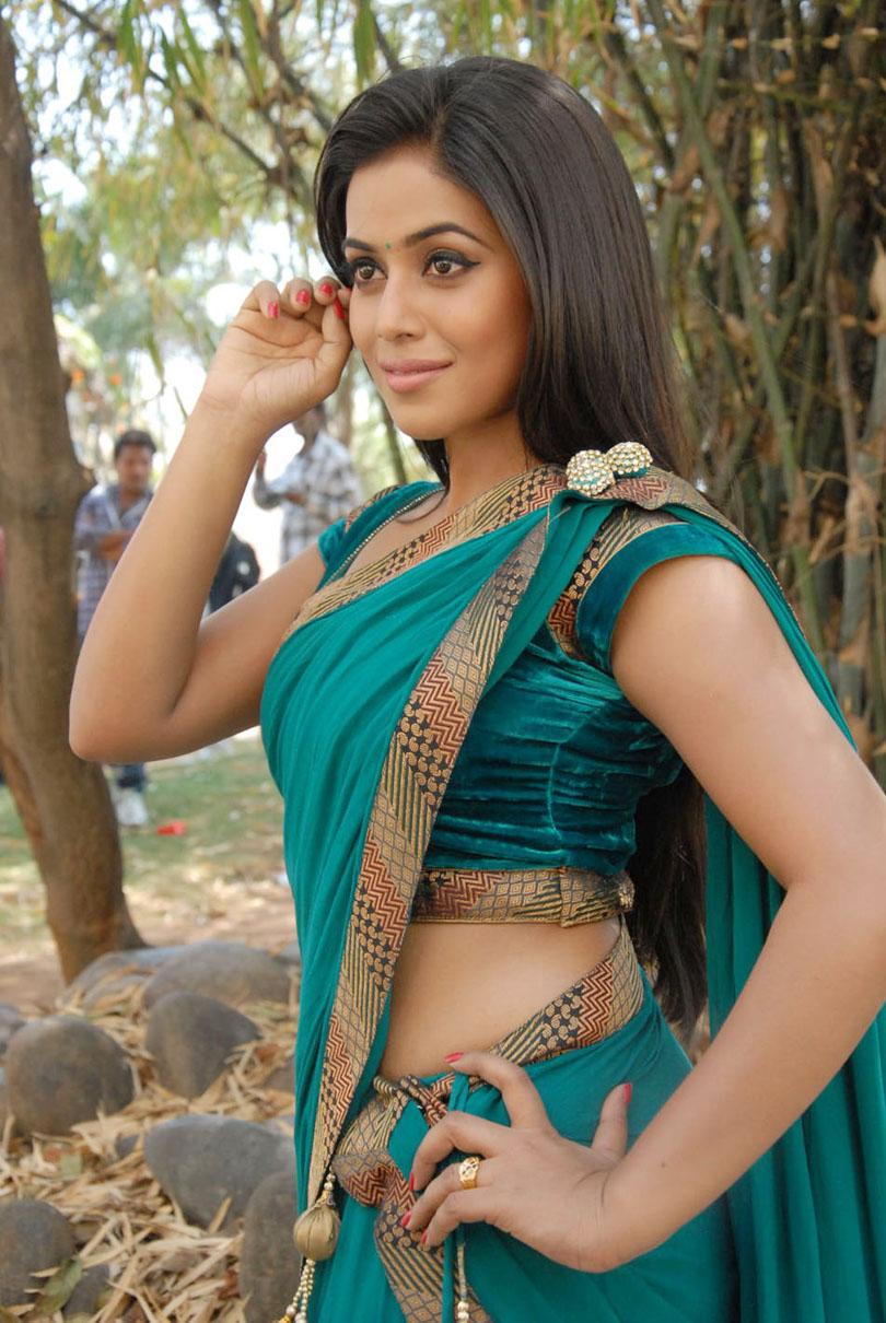 Poorna Latest Hot Stills In Saree