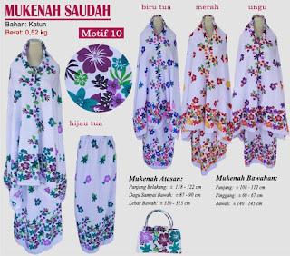 Grosir Mukenah Bali cantik -saudah motif 10