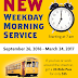 Streetcar Morning Service Kicked off September 26th!