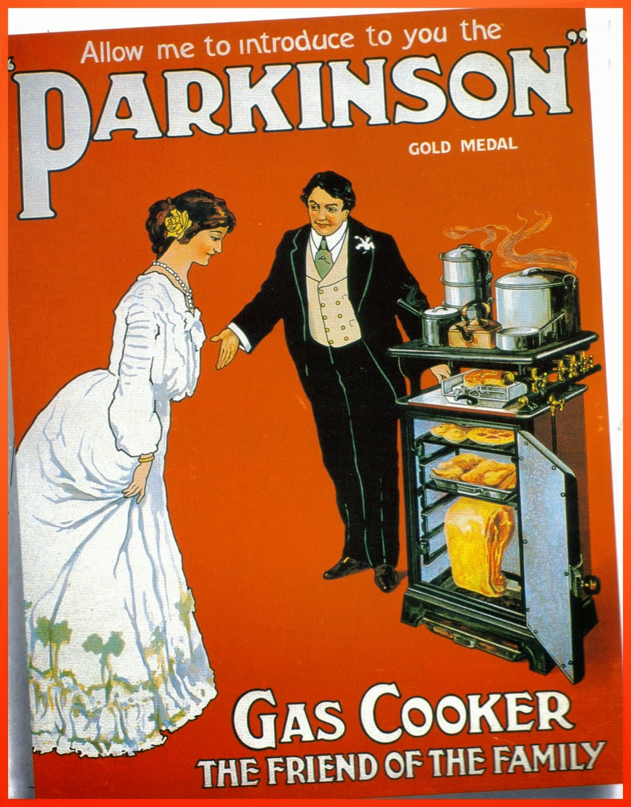 1910 Parkinson Gas Cooker