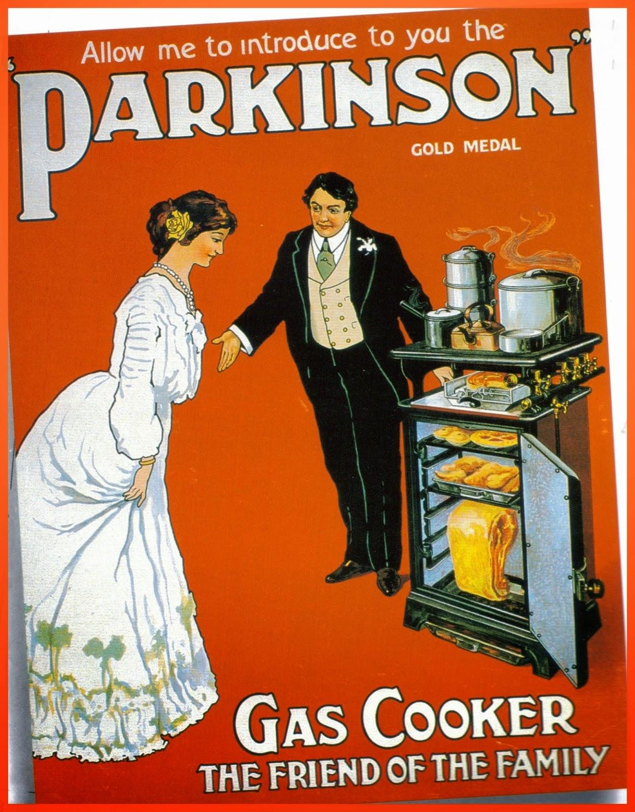 1910 Parkinson Gas Cooker