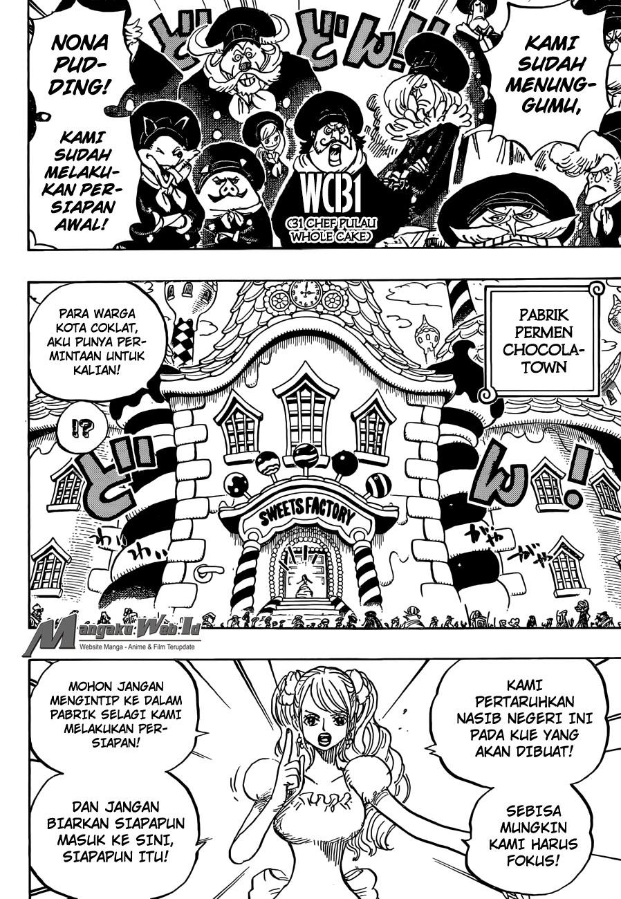 One Piece – Chapter 880 : Tidak Ada Jalan Keluar