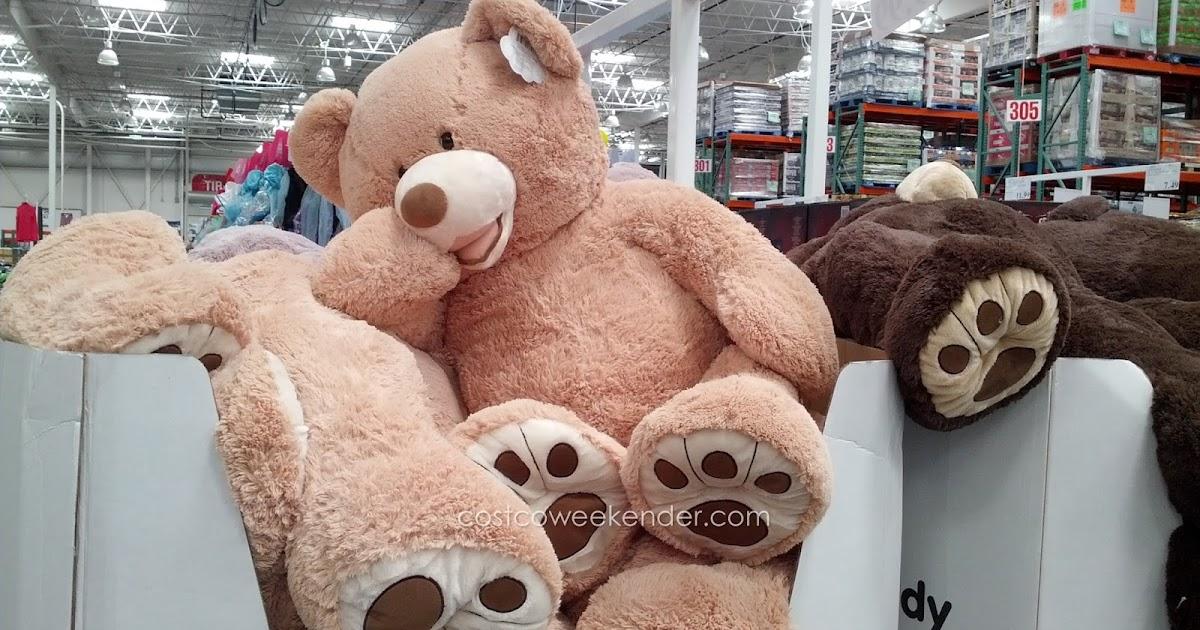 Hugfun 53 Inch Plush Bear Costco Weekender