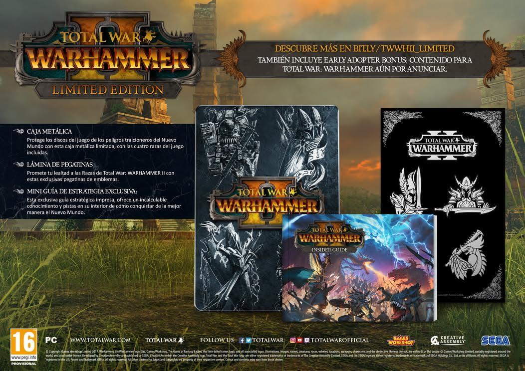 Total War Warhammer II se lanzará el 28 de septiembre y ya se puede reservar edición Serpent God