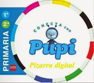 "Pizarra Digital ""Conecta con Pupi"". Editorial S.M."