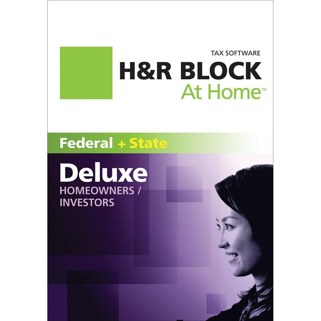 block a home del...H And R Block 2016 Deluxe