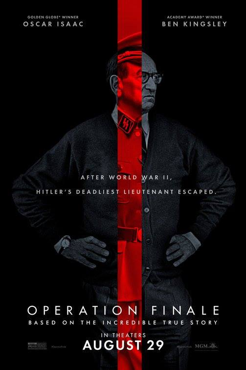 OperationFinale: ecco due fantastici character poster!