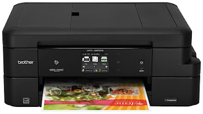 Brother INKvestment cartridges printing for less than i cent per page for dark in addition to whi Brother MFC-J985DW Driver Downloads
