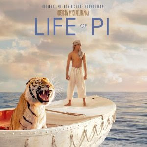 La vida de Pi Canciones - La vida de Pi Música - La vida de Pi Banda sonora - Life of Pi Soundtrack