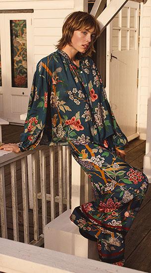 moda mujer HM GP J Baker estampados