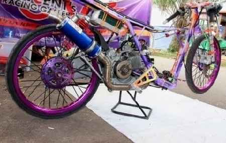 Modifikasi Drag mio