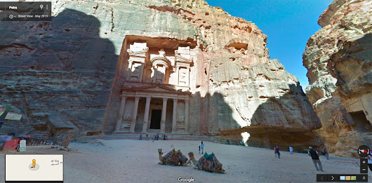 Official Google Blog: Discover Jordan's past and present in Google Maps