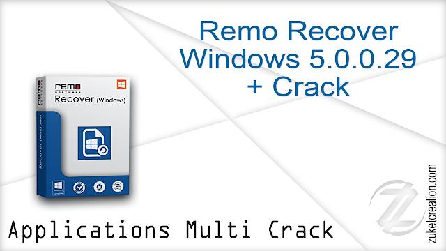 Remo Recover Windows 5.0.0.29 + Crack