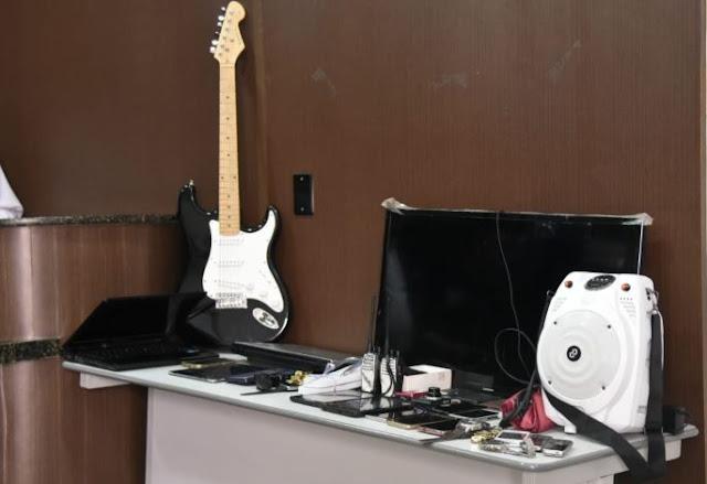 Policia apreende materiais roubados na casa de ex soldado da PM