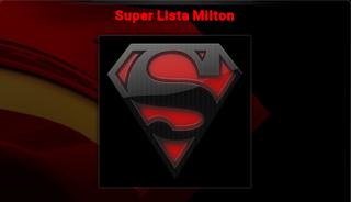 ADDON SUPER LISTA MILTON