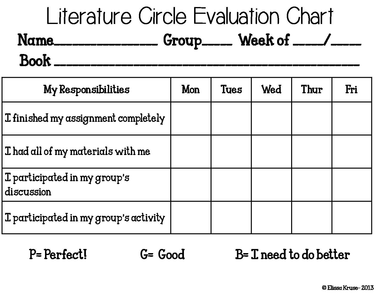 Workbooks literature circles roles worksheets : Literature Circles Forms Pictures to Pin on Pinterest - Clanek