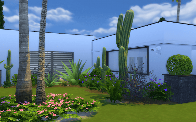 immense maison Sims 4