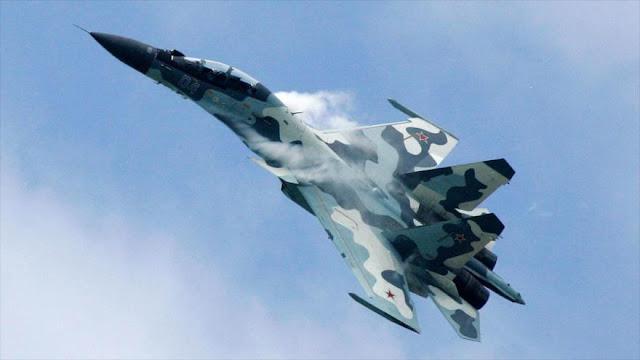 Caza ruso ahuyenta avión espía de EEUU del espacio aéreo de Rusia