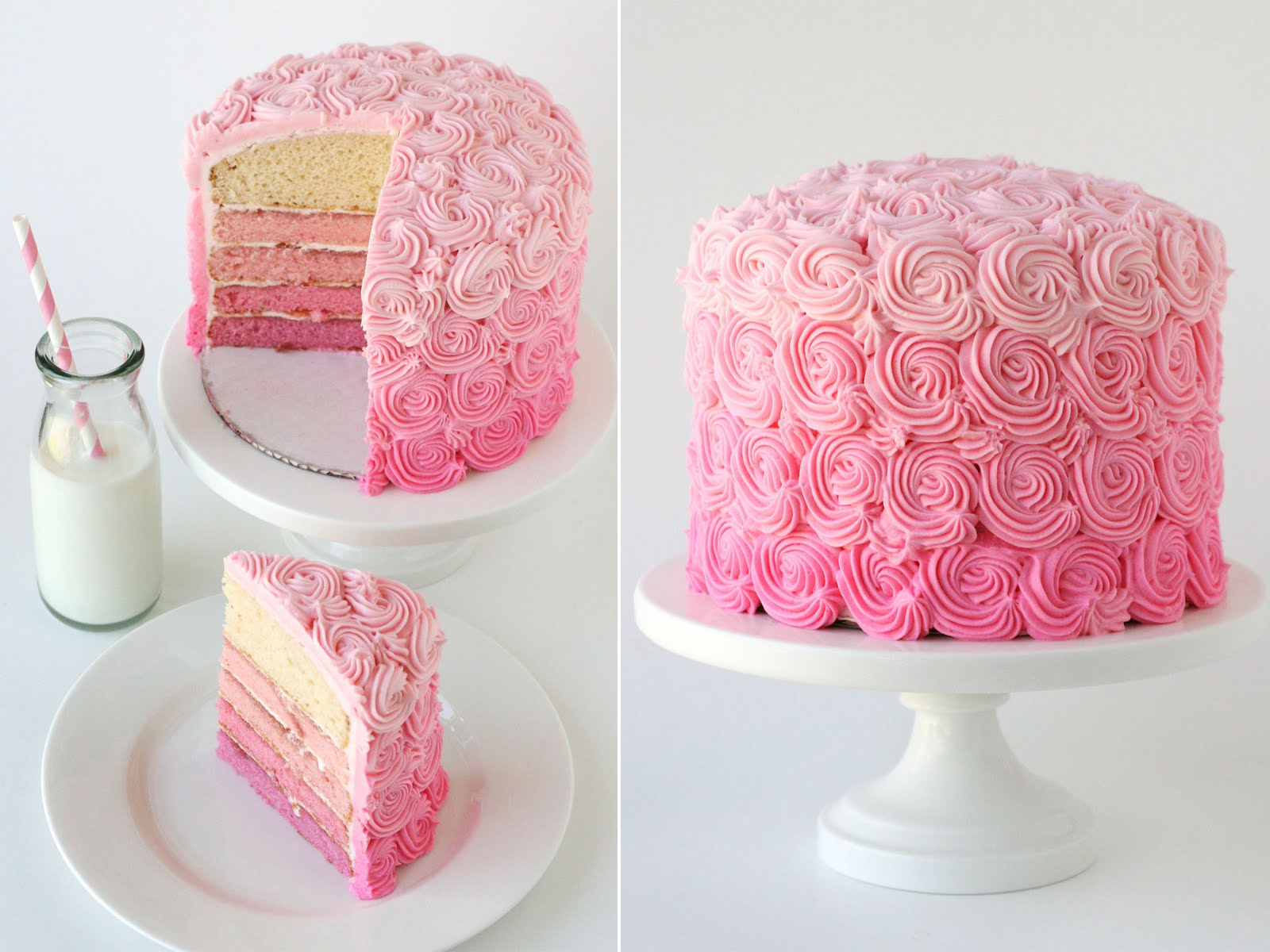 Babbling Brooke: Ombre Cakes (Love!)
