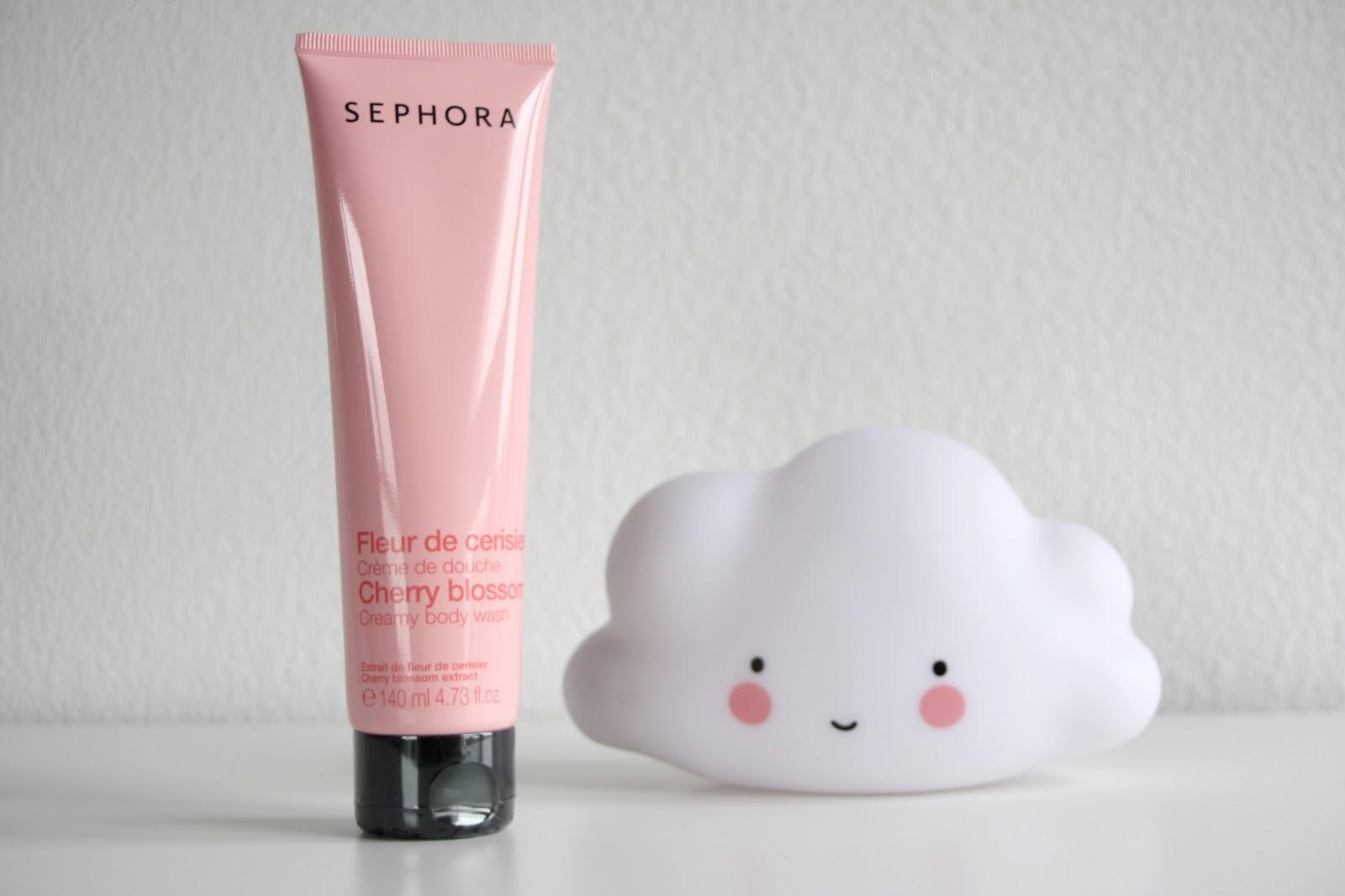 Make Up By Linoa Gel Douche A La Fleur De Cerisier De Sephora