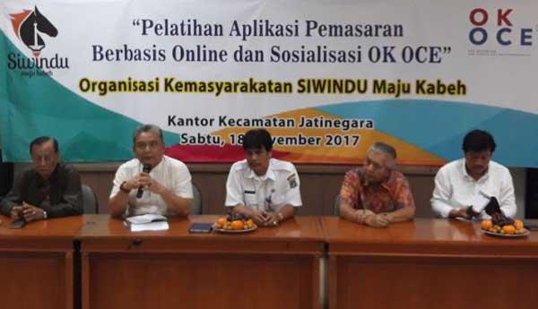 warga kuningan diberi pelatihan berbasis online