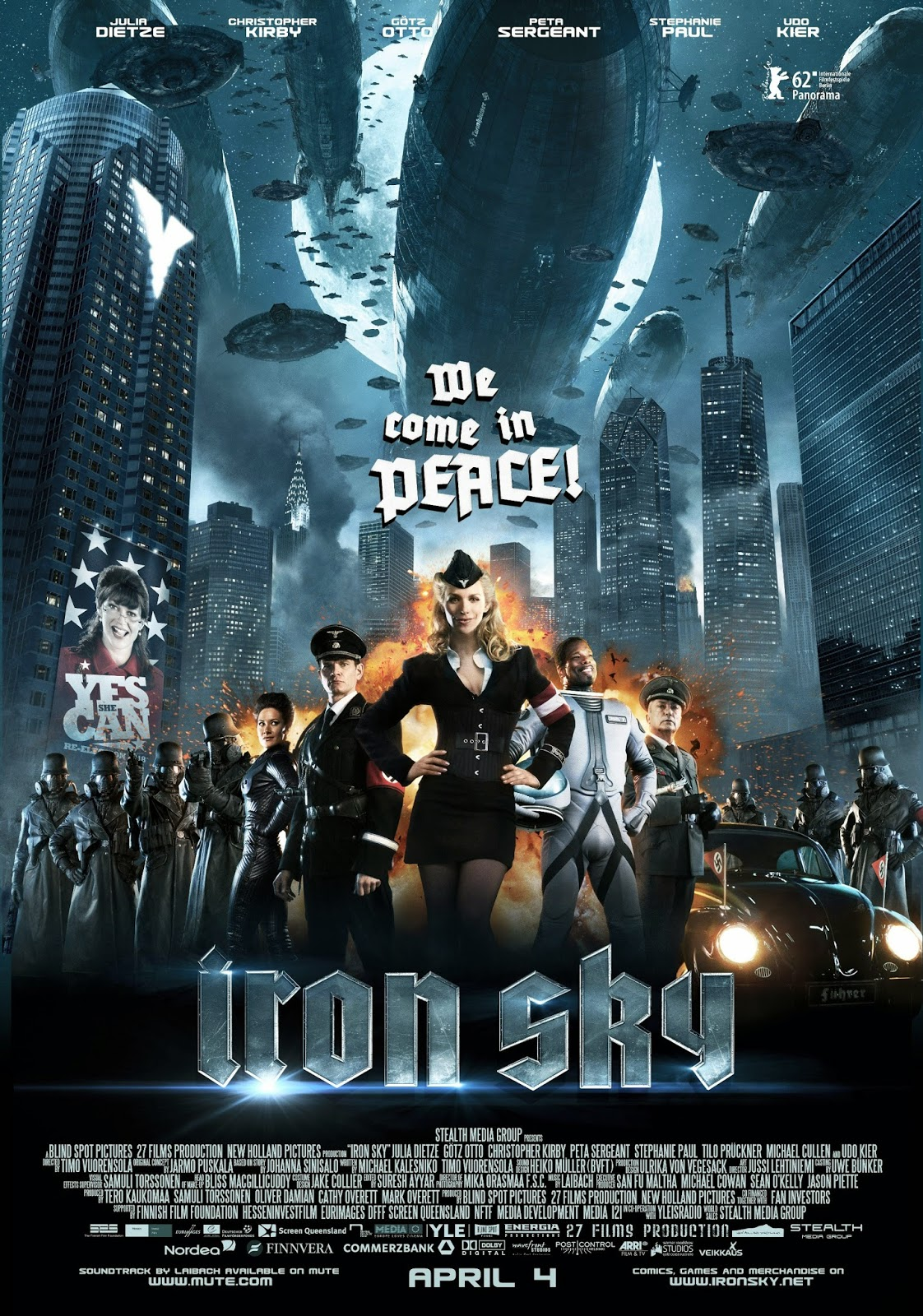 Film Trailers World Custom E Money Flazz Dan Brizzi Card Design Thor 1 Iron Sky