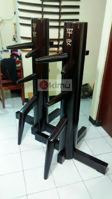 Mok Yan Jong / wooden dummy untuk berlatih Wing chun atau Jet Kune Do