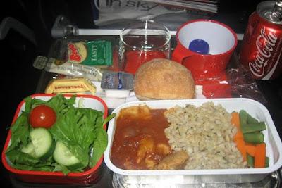 Qantas Economy Class Food
