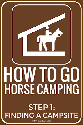 How to Go Horse Camping: Finding an Equestrian Campsite