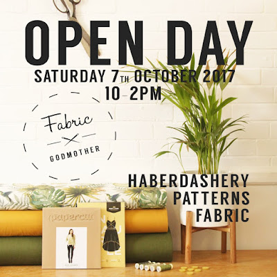 Fabric godmother open day 7th October 2017