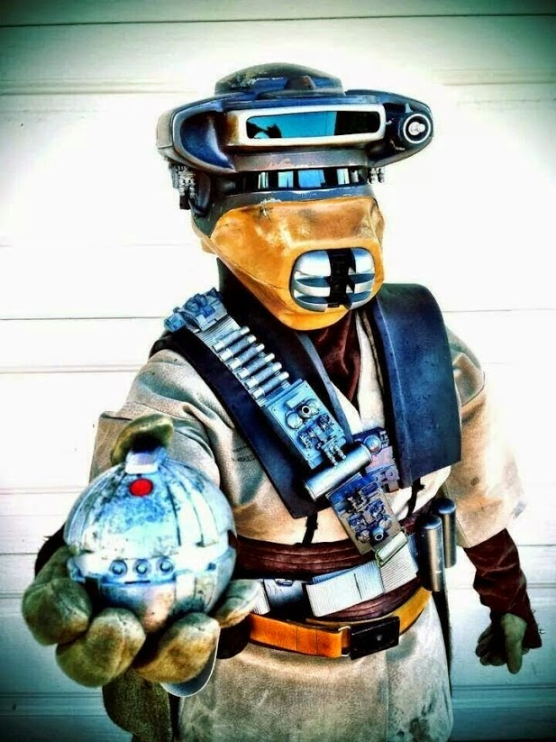 Boushh cosplay star wars