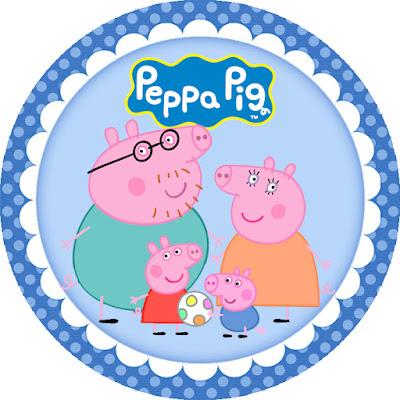 varios adesivos personalizados da peppa pig