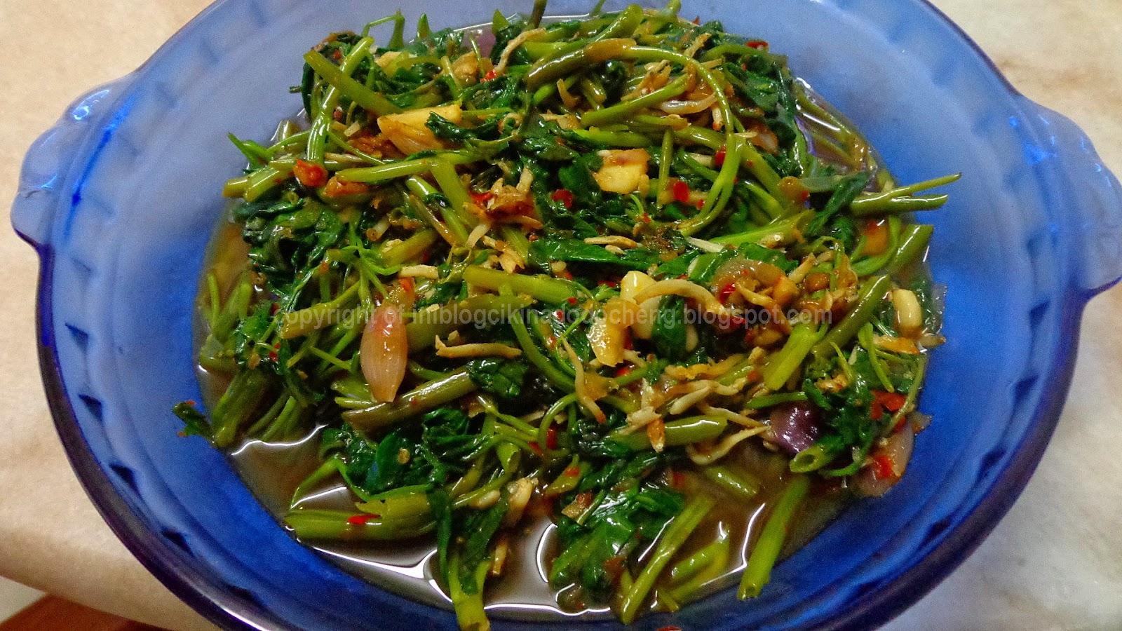 blog cik ina resepi cepat  mudah ikan kerisi masak sos Resepi Masak Ikan Lumek Enak dan Mudah