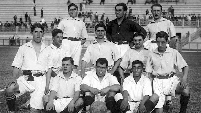 Formación de Chile ante Brasil, Campeonato Sudamericano 1919, 11 de mayo