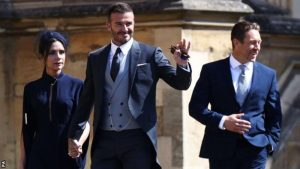 Royal Wedding: Sports stars Serena Williams & David Beckham spotted (PHOTOS)