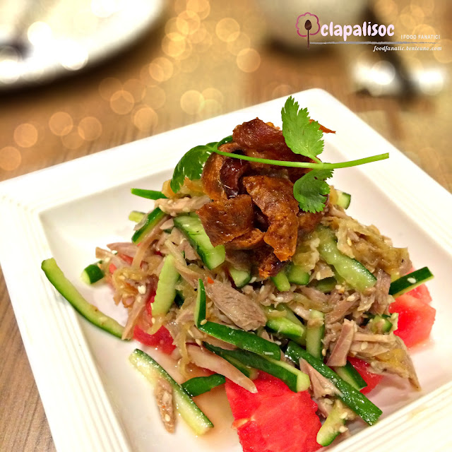 Roast Duck Salad from Coca Restaurant SM Aura