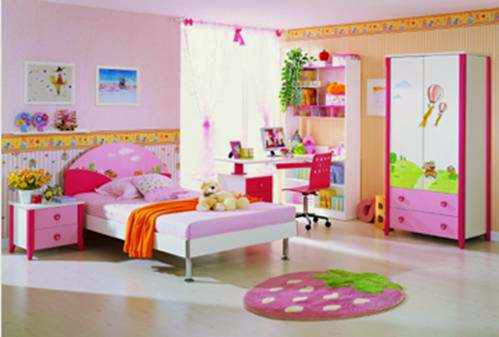 Foto Kamar Anak Hello Kitty