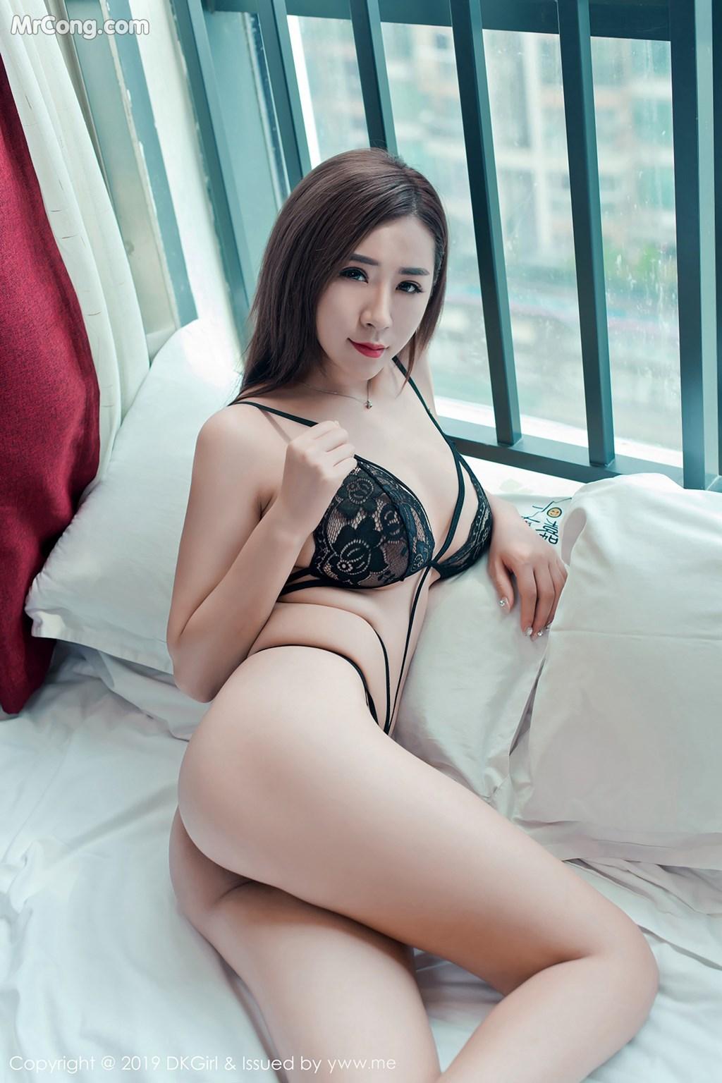 Image DKGirl-Vol.095-Cier-MrCong.com-004 in post DKGirl Vol.095: Người mẫu 雪儿Cier (49 ảnh)