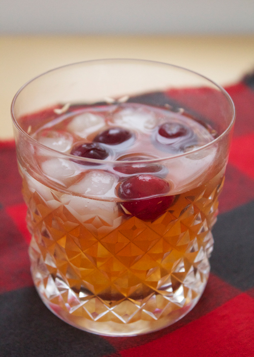 Cranberry Old Fashioned || A Less Processed Life