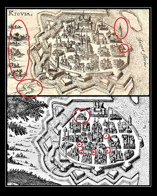 Крепость Самватас на Днепре