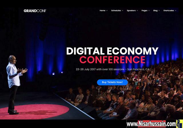 Grand Conference - Event Conference WordPress Premium Theme