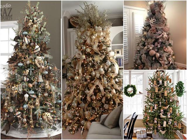 Decoração árvores de Natal