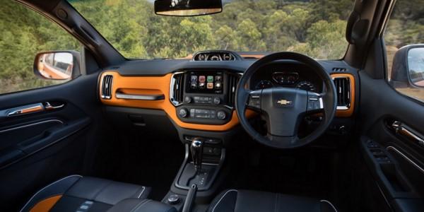 2016 Chevrolet Colorado Xtreme Interior.