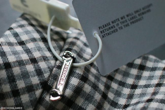 日本人ファッションブロガー,Mizuho K,NEW IN TWIN SET-ガンクラブチェック ワイドパンツ from farfetch