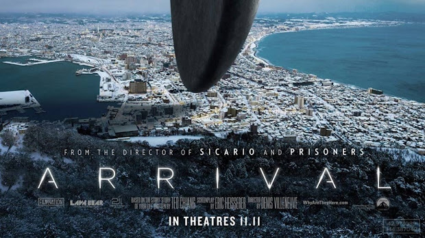 Arrival 2016 movie poster