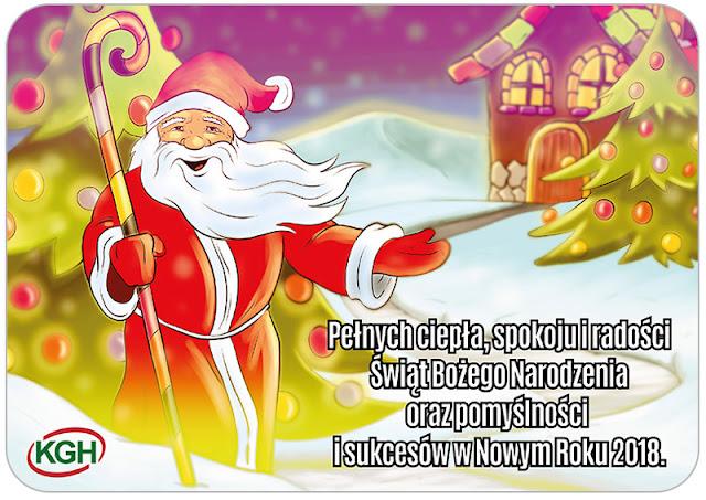kartka świąteczna w stylu komiksowym