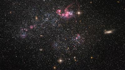 Mapeig del pont magnètic entre els nostres veïns galàctics més propers