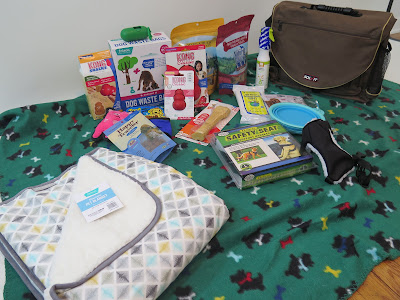 The Pet Travel products we won from BlogPaws & Chewy.com will be so useful on our road trips with the dogs. Pets, Pet travel, Dog travel, pet friendly travel, pet travel products, dog car safety travel harness for dogs
